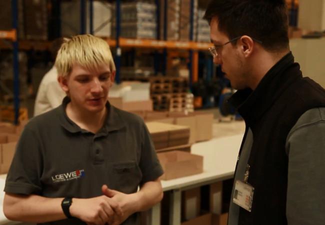 Ausgelagerter Arbeitsplatz: Daniel Birkemeier will sich bewähren
