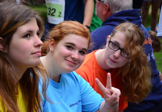 Staffellauf im Berliner Tiergarten: Läufer aus Bethel und Bünde nehmen teil