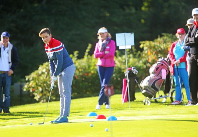 Integratives Golfturnier