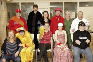"""""""Die Tollkühnen"""" sind ein inklusives Theaterensemble, das sich jeden Dienstag im Begegnungszentrum Brackwede trifft."""