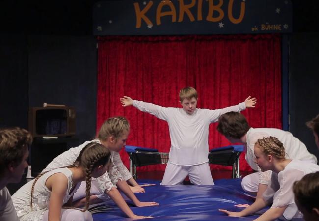 Seine große Leidenschaft ist der Zirkus