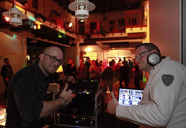Inklusives DJ-Team sorgt für Stimmung