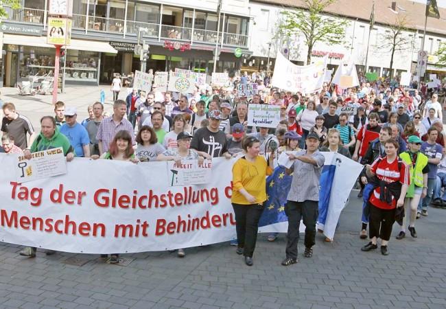 Protesttag für Gleichstellung