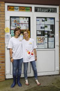Julia Killian und Johanna Gernentz
