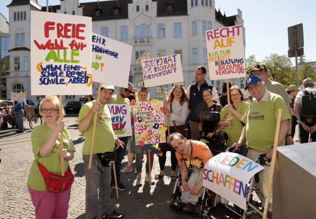 Protesttag zur Gleichstellung
