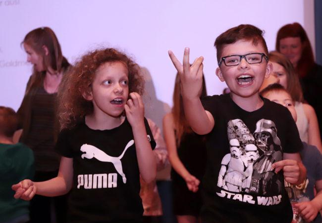 Musikprojekt der Mamre-Patmos-Schule