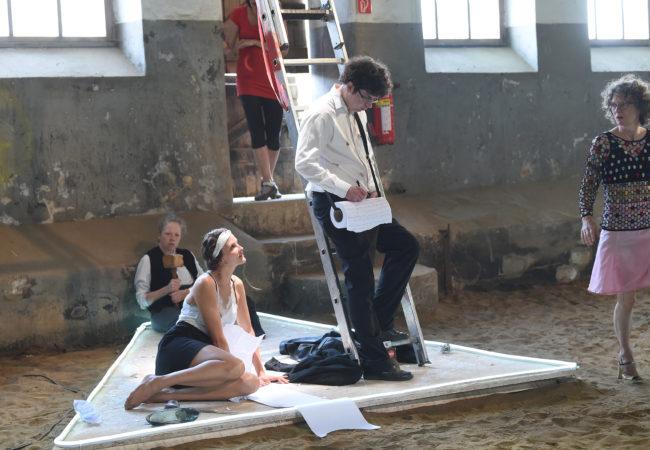 Szene aus Theaterstück